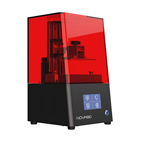 NOVA3D BENE4 Mono MSLA 3D Printer UV Photocuring Fast Printing Free Leveling Resin 3D Printer 130x80x150mm Print Size…