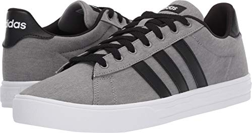 adidas Men's Daily 2.0, Grey/Black/White 10.5 M US