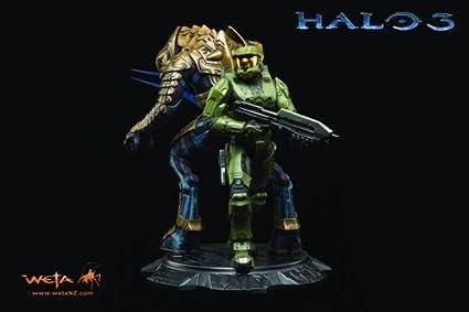 Weta Collectibles Halo 3 Master Chief Arbiter Statue
