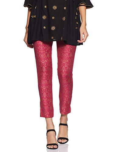 Buy Amazon Brand Tavasya Women S Cigarette Pants Slim Fit Bottom Priceonline In