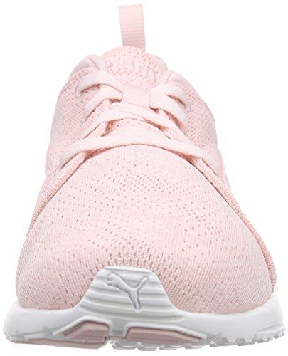 PumaCarson Runner Camo Mesh EEA - Zapatillas de Running Unisex adulto Rosa - Pink (pink dogwood-white 01)