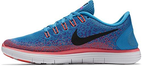 Nike WMNS Free RN Distance, Women's Running Shoes Blue (Blue Lagoon / Black-prsn Vlt-ht Lv)