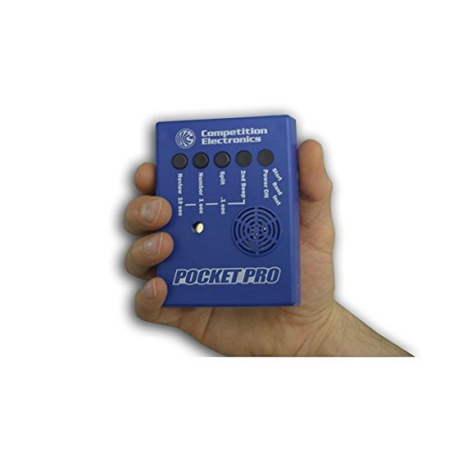 Competition Electronics Pocket Pro Timer, Blue by Competition Electronics