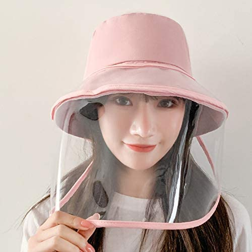 Full Face Fisherman Hat Upgraded Wide Brim Bucket Hat Shield Unisex Sun Protection Bucket Cap UV Protection Cap for Outdoor Activities