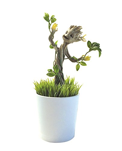 Uncle Milton Marvel Guardians of the Galaxy Grow and Glow Groot - Baby Groot Flower Pot