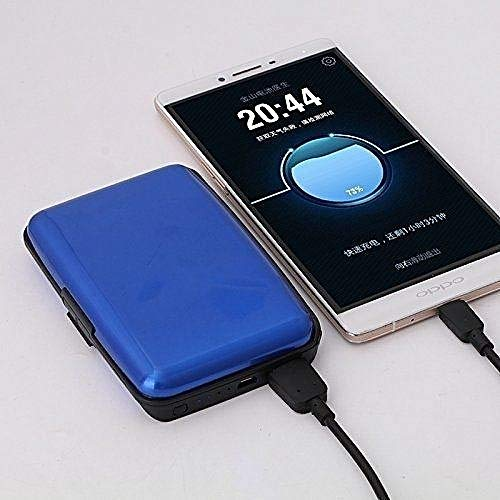 Auf 2 in 1 Power Bank Charger and Wallet with RFID: Amazon.in: Office  Products