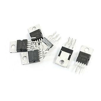DealMux a14060700ux0171 TDA2030A TO-220 18W Hi-Fi Amplificador 35W Driver de Circuito Integrado