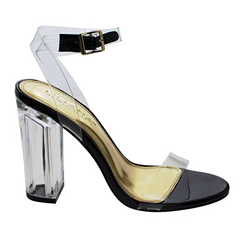 Clear Acrylic Shoes - 9