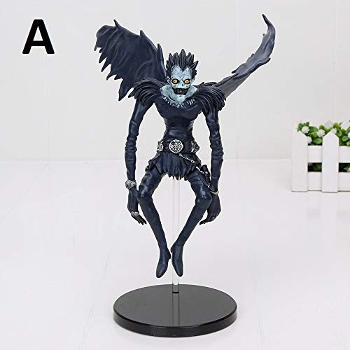 PAPRING Ryuk Figure 5/7 inch PVC Hot Action Figures Horror Movie Anime Small Model Toy Mini Gift Christmas Halloween Birthday Gifts Cute Doll Animal Collectible for Kids Adults (A) ()