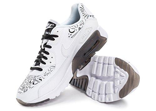 W White White para black Print Air Ultra Blanco Deporte de 90 Mujer Zapatillas MAX NIKE d47Rqd