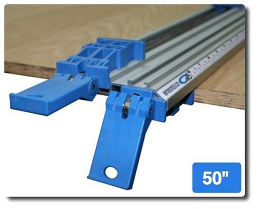 E. Emerson Tool T-50 All in One Clamp 50-Inch Double Grip Bench Clamp with T-track