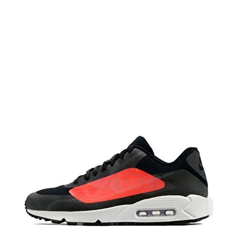 huge selection of e1d9e 5dbaa Galleon - NIKE Air Max 90 NS GPX Mens Running Trainers AJ7182 Sneakers Shoes  (UK 8.5 US 9.5 EU 43, Black Bright Crimson 003)