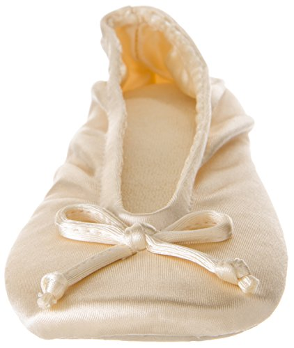 Cream Slippers Your Women's On Classic Feet Satin Ballerina Ox0qOBzw8
