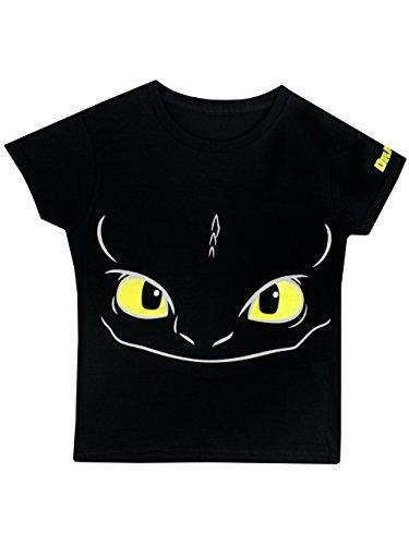 Dragons Boys' Dragons Riders Of Berk T-Shirt Glow In The Dark (Mens Dragon)