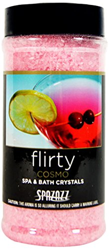 Spazazz SPZ-508 Set The Mood Crystals Container, 17-Ounce, Cosmo Flirty