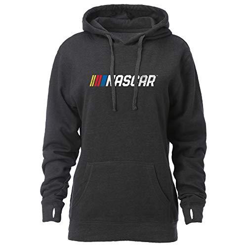 NASCAR NASCAR Womens W Spirit HoodW Spirit Hood, Graphite, -