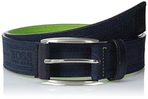 BOSS Green Men's Testio Belt, Navy, 34