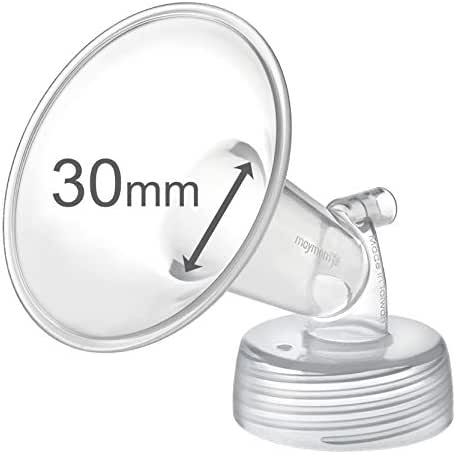 Maymom Wide Neck Pump Part for Spectra S1 Spectra S2 Spectra 9 Plus Breastpump; Incl Wide Mouth Flange (One flange-30mm Flange);Not Original Spectra Flange; Not Original Spectra Baby USA Parts