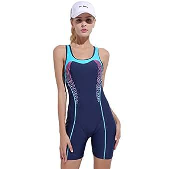 Amazon.com: XDXART Women's One Piece Swimsuit Athletic