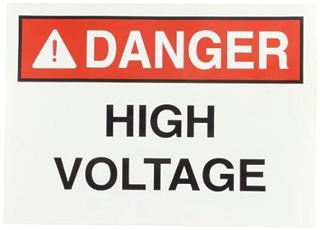 LegendHigh Voltage Rigid and Self-Adhesive Safety Sign and Self Adhesive Label Self-Stick Safety Sign