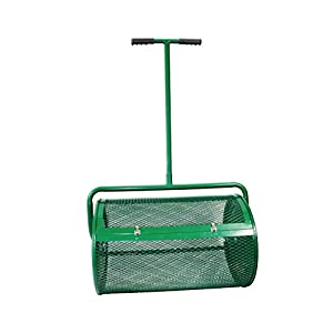 Landzie Compost & Peat Moss Spreader (24 Inches)