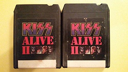 KISS Alive II Vol I and II 8 Track Tape 1977 Casablanca NBL 87076 Vol 2 8 Track Tape