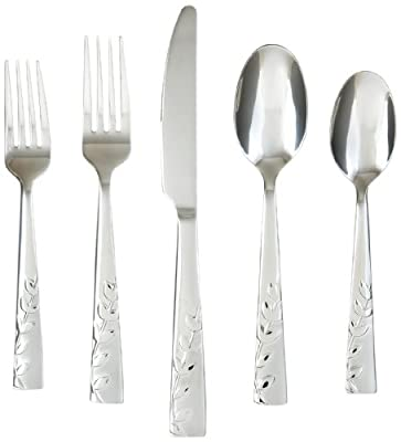 Cambridge Silversmiths 20-Piece Flatware Sets, Service for 4