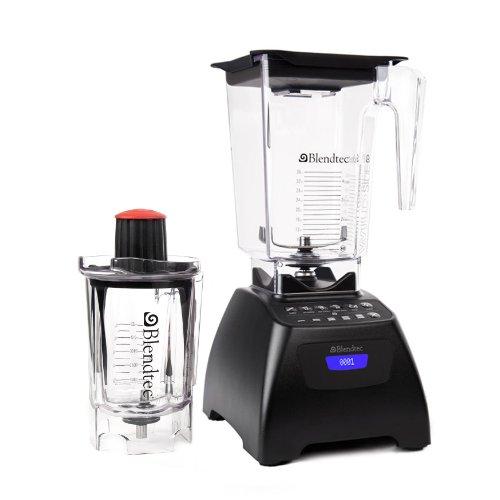 Blendtec 9001026 Signature Series Blender with Wildside and Twister Jar, Black