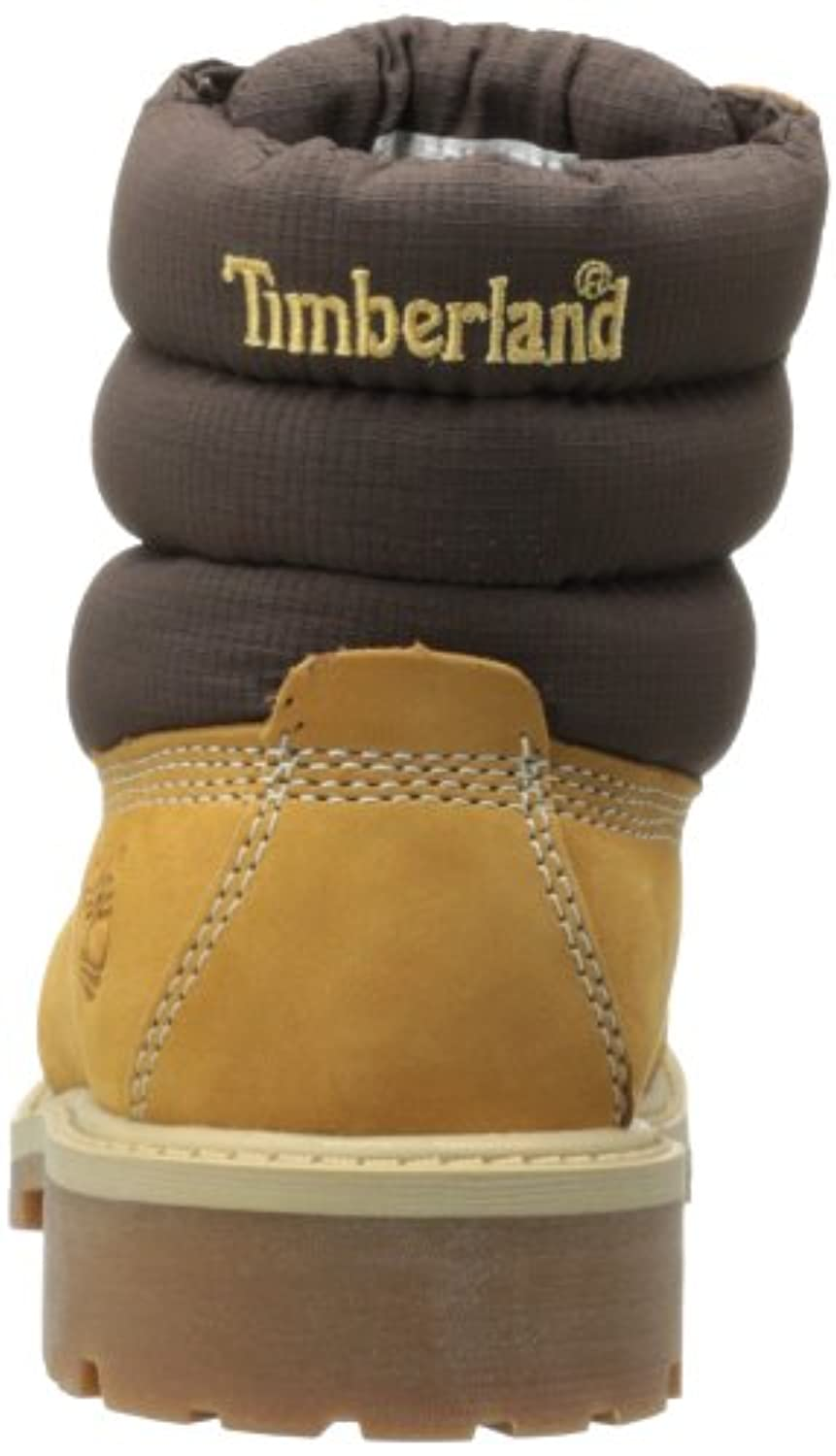 Timberland 6 In Classic Boot Ftc 6 In Quilt Boot, Unisex Children's Boots, Brown (Wheat), 6.5 Child UK