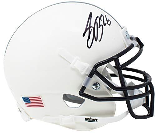 Saquon Barkley Signed Penn State Nittany Lions Authentic Mini Schutt Helmet JSA