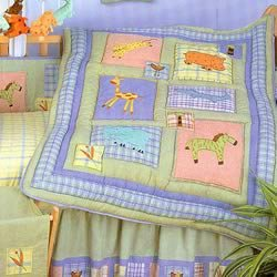 Kidsline 6 Piece - KidsLine Malawi 6 Piece Crib Bedding Set 4200BEDS