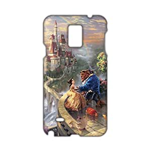 Angl 3D Beauty And Beast Phone For Case Iphone 4/4S Cover by icecream design