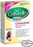 Culturelle Kids Chewables Probiotic Natural Bursting Berry - 30 Chewable Tablets
