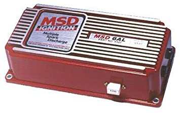 MSD Ignition 6420 Capacitive Discharge 6AL Ignition with Rev Limiter