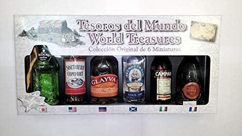 Tesoros del Mundo Colección Original 6 Miniaturas: Amazon.es ...