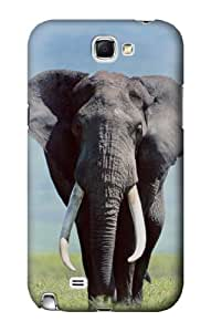 S0309 Africa Elephant Case Cover for Samsung Galaxy Note 2 by lolosakes