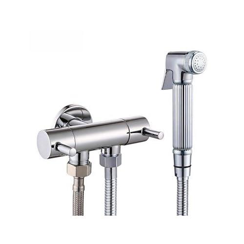 Chrome Water-Saving High Pressure Bidet Sprayer Handheld Bidet for Toilet, K1012+LP903 hot sale
