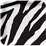Zebra Animal Print Dessert Plates (8ct)