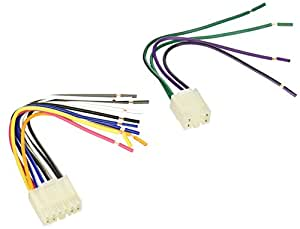 amazon com scosche ta02rb 1987 up toyota replacement harness for rh amazon com Scosche Wiring Harness Diagrams Ford Scosche Wiring Harness 2007 Silverado