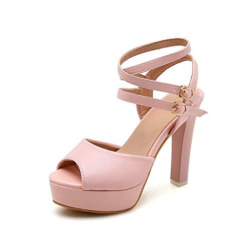 i i con tacchi 41 alti e violento e impermeabili sandali sono donne sandali sandali rosa semplici le sono R8qn4