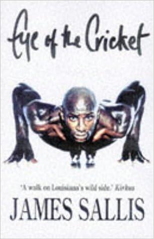 Eye of the Cricket A Lew Griffin novel ,James Sallis