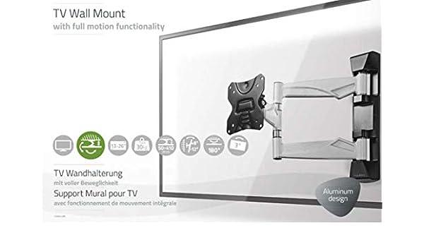 TronicXL Premium - Soporte de Pared para televisor (Aluminio, para Telefunken XF22A101D XF22A101 XH20D101 XH20A101): Amazon.es: Electrónica