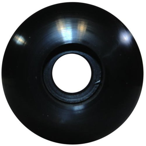 BLANK Skateboard Wheels (Black, 50mm) 50 Mm Skateboard Wheels