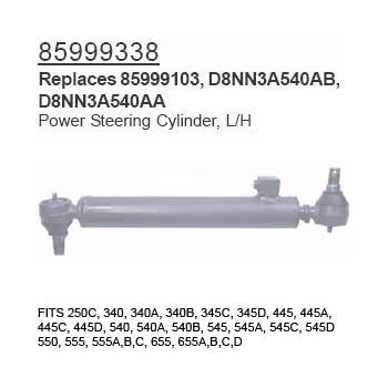 Amazon com: 85999338 Ford Tractor Parts Power Steering Cylinder, L/H