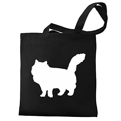 Bag silhouette silhouette Canvas Siberian Eddany Siberian Tote Bag Canvas Eddany Tote wxaEvWqT