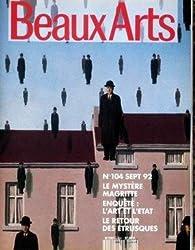 Beaux Arts Magazine, n°104 par  Beaux Arts Magazine
