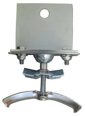 Festoon End Clamp, Round, 0.95-1.25 O.D.