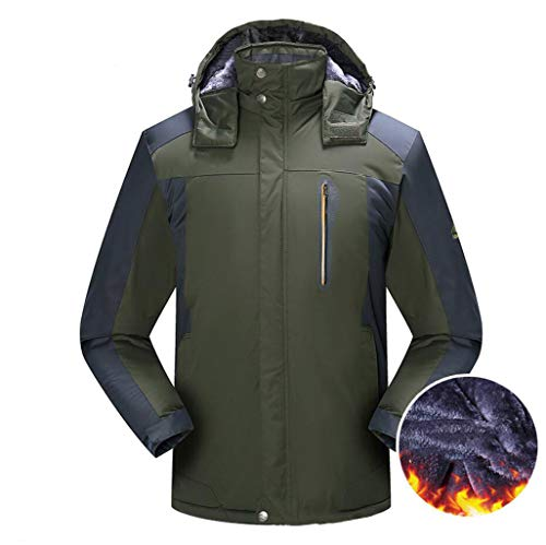 colore Imbottiti Da Montagna Xl Plus Zjexjj Alpinismo Antipioggia Green Costumi Dimensioni In Giacche Impermeabili Antivento Uomo Velluto Invernali 6BwqU5Pxw