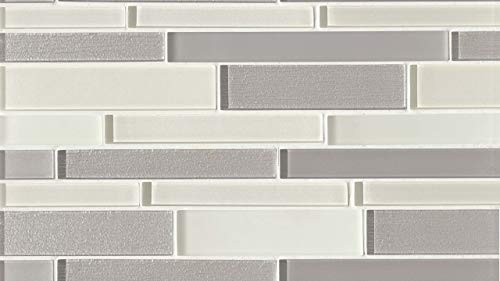 Traditional Verve Wall Mosaic in Wonderous, 1 SqFt