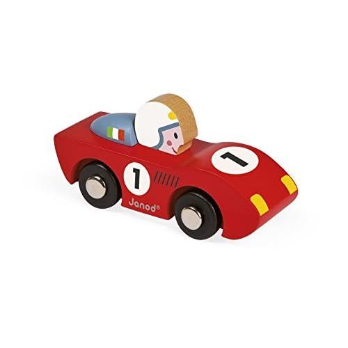 Janod J08545 - Story Racing Speed Bois (2 modèles aléatoires)